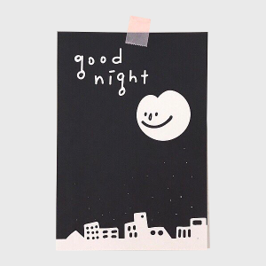 엽서_good night